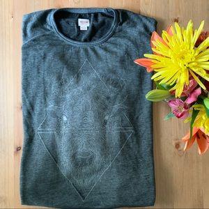 Charcoal Grey Buffalo Sweatshirt